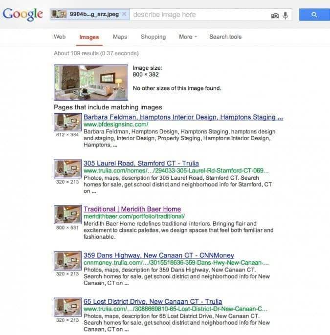 Google images result