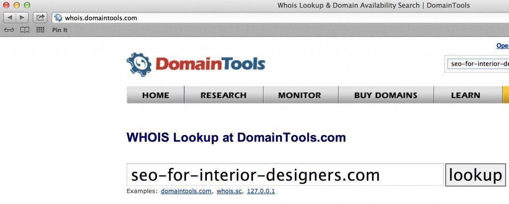 domain registrar search