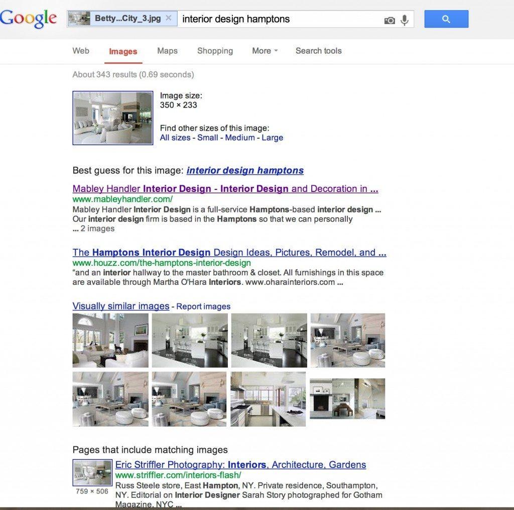 interior design image search