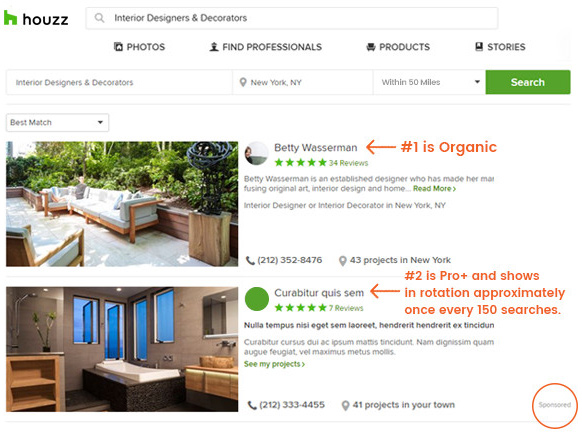 houzz-earned-organic-positions